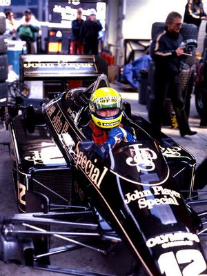 """The Best"" Unvergessen: Ayrton Senna da Silva /Brasil"