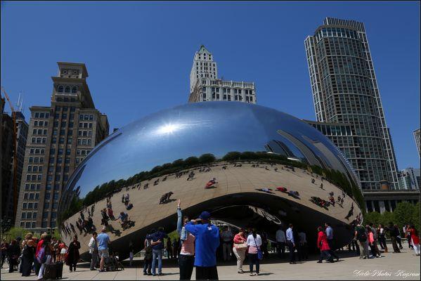 The Big Bean de Chicago