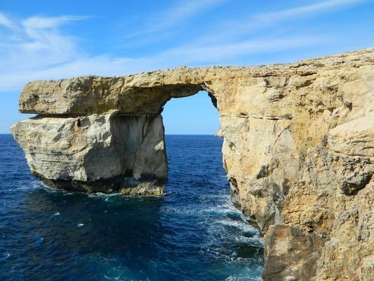 The blue Window in Gozo...