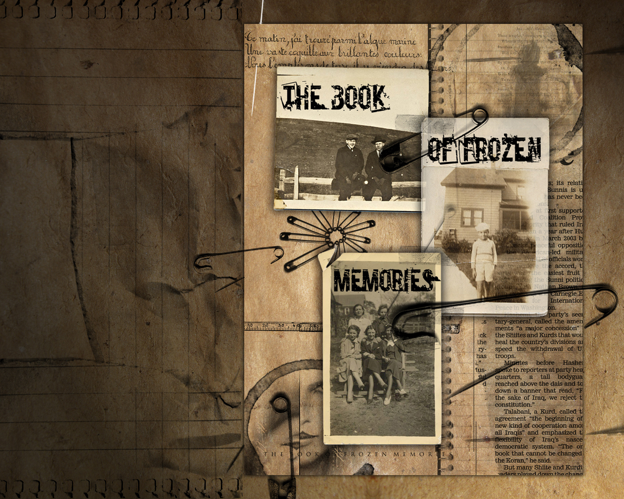 The Book of frozen Memories