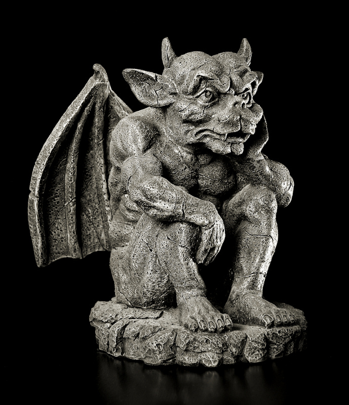 The bored Gargoyle