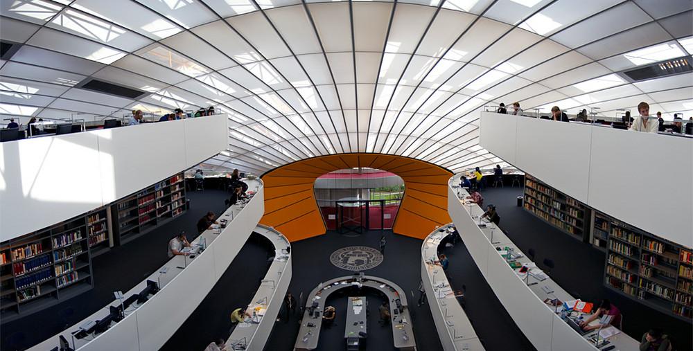 the brain philologische bibliothek der fu berlin foto bild deutschland europe berlin. Black Bedroom Furniture Sets. Home Design Ideas