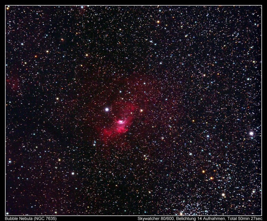 The Bubble Nebula - Die galaktische Blase