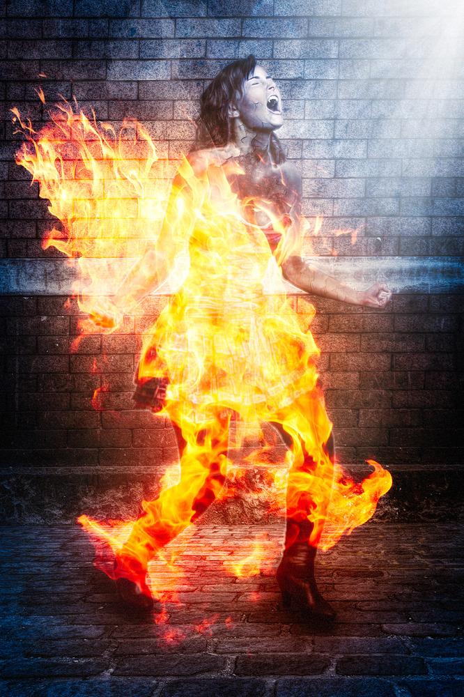 The Burning Vamp