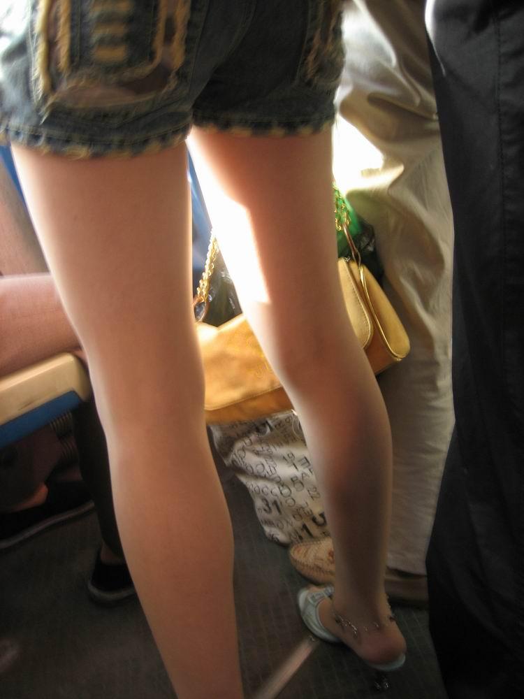 the bus leg