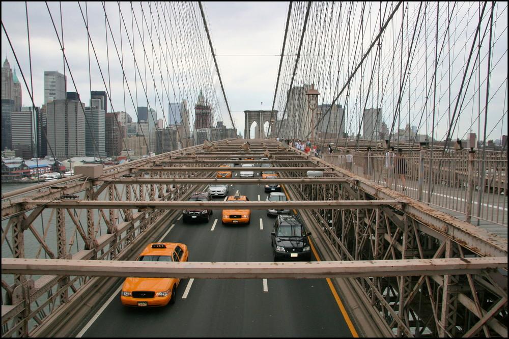 The busy bridge.....