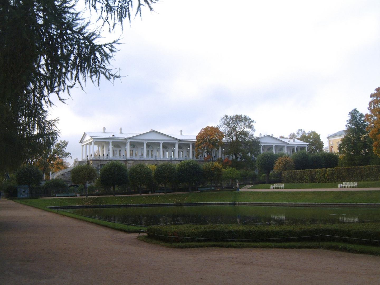 the  Cameron Galery in Zarskoje Zelo