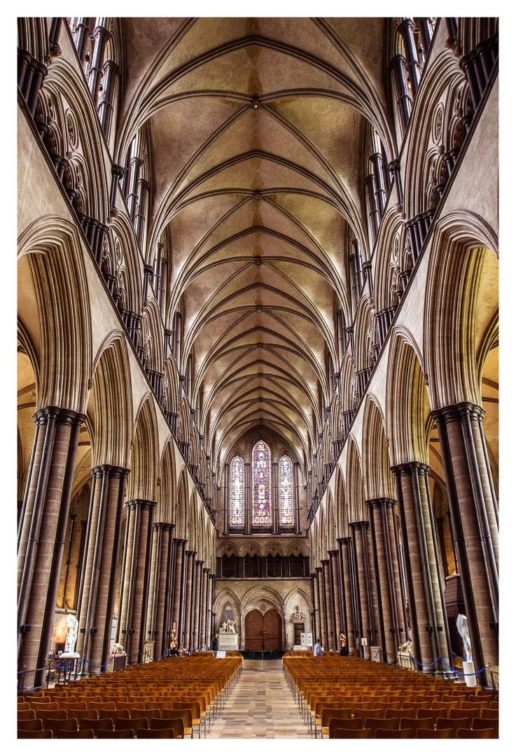 The Cathedral Church of St Mary - Salisbury Cathedral