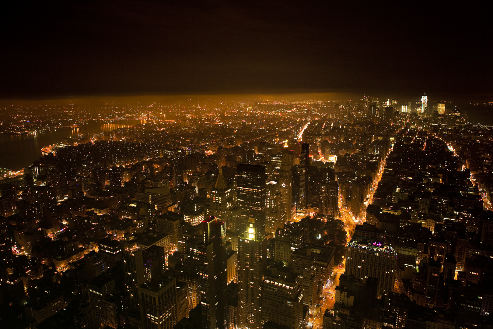 The city never sleeps...