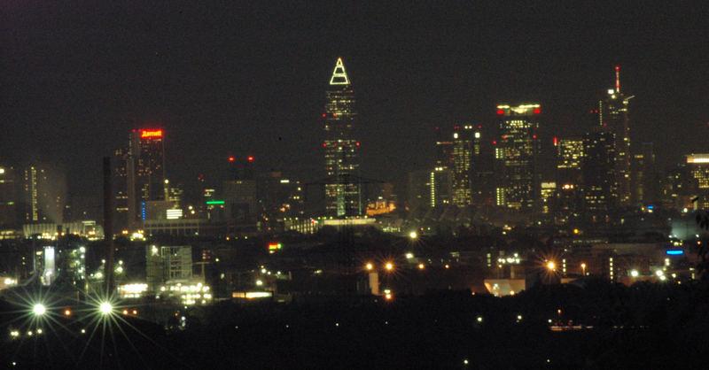 The city never sleeps...
