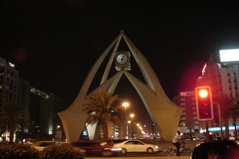 The Clock in Bur Dubai