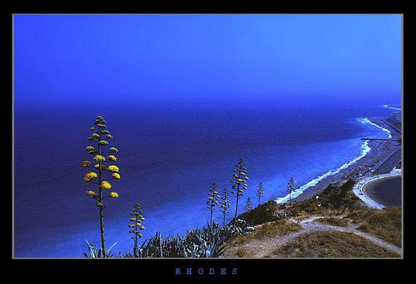 The coast line...