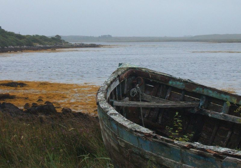 The coast of Connemara