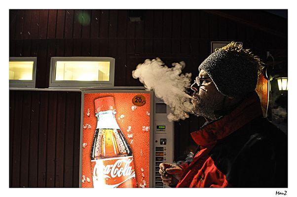 .. The Coca Cola Man ....