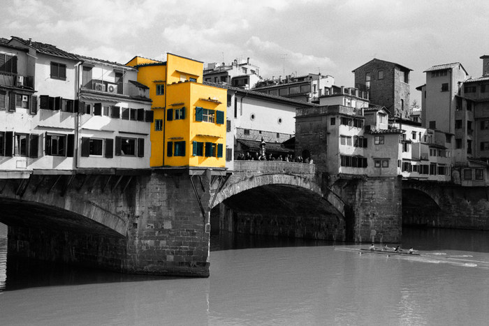 The Colored Ones -Nr.1- (Ponte Vecchio, Florenz)