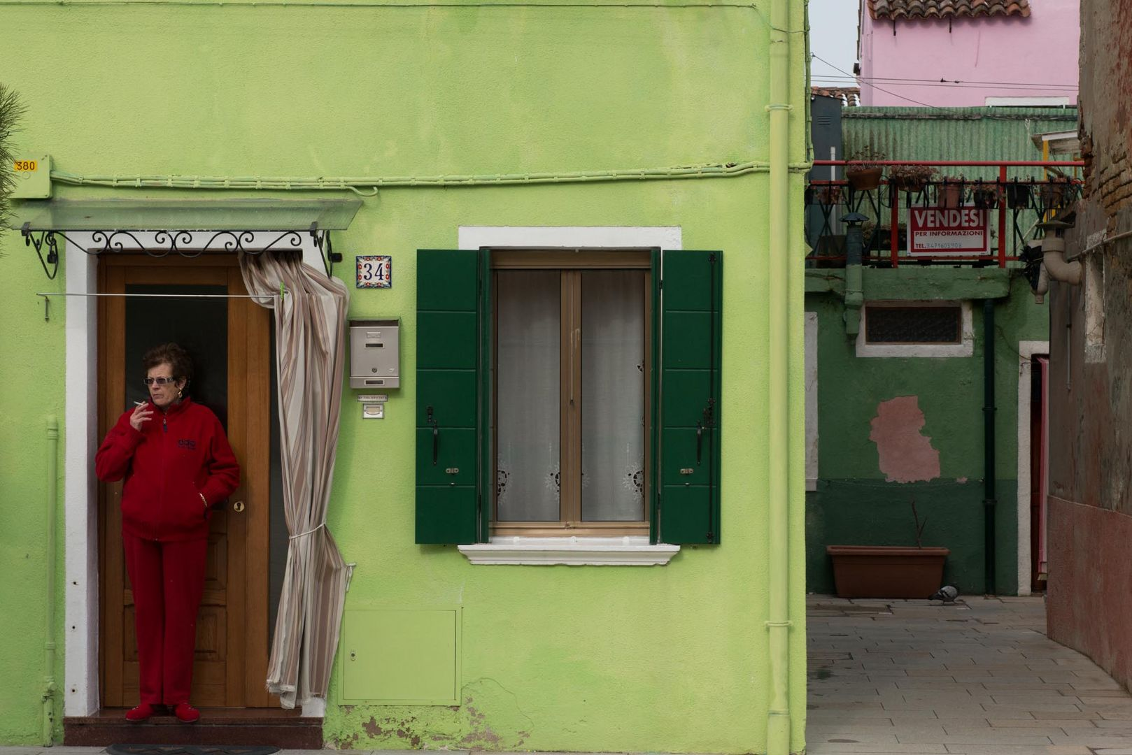 the colors of burano