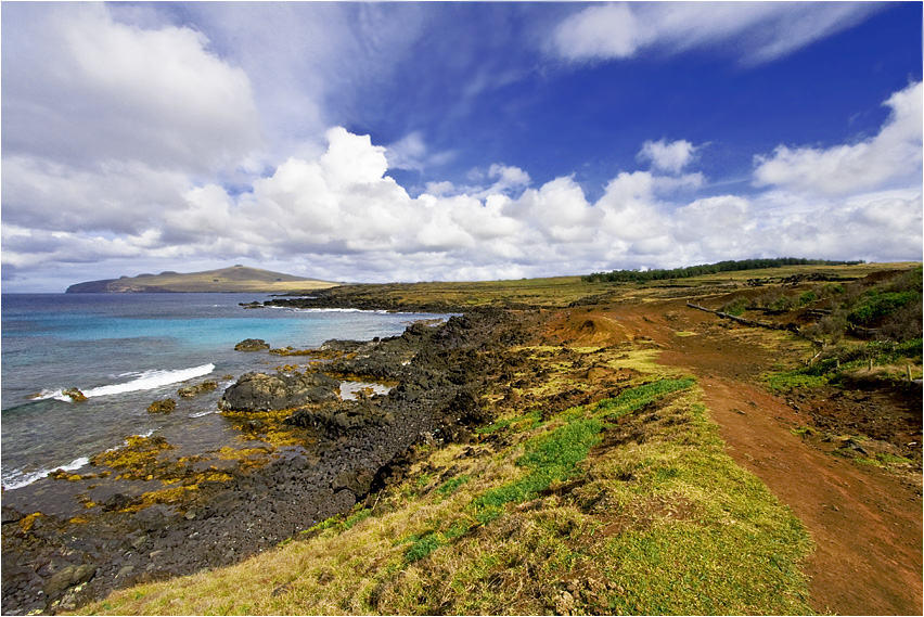 the colors of rapa nui