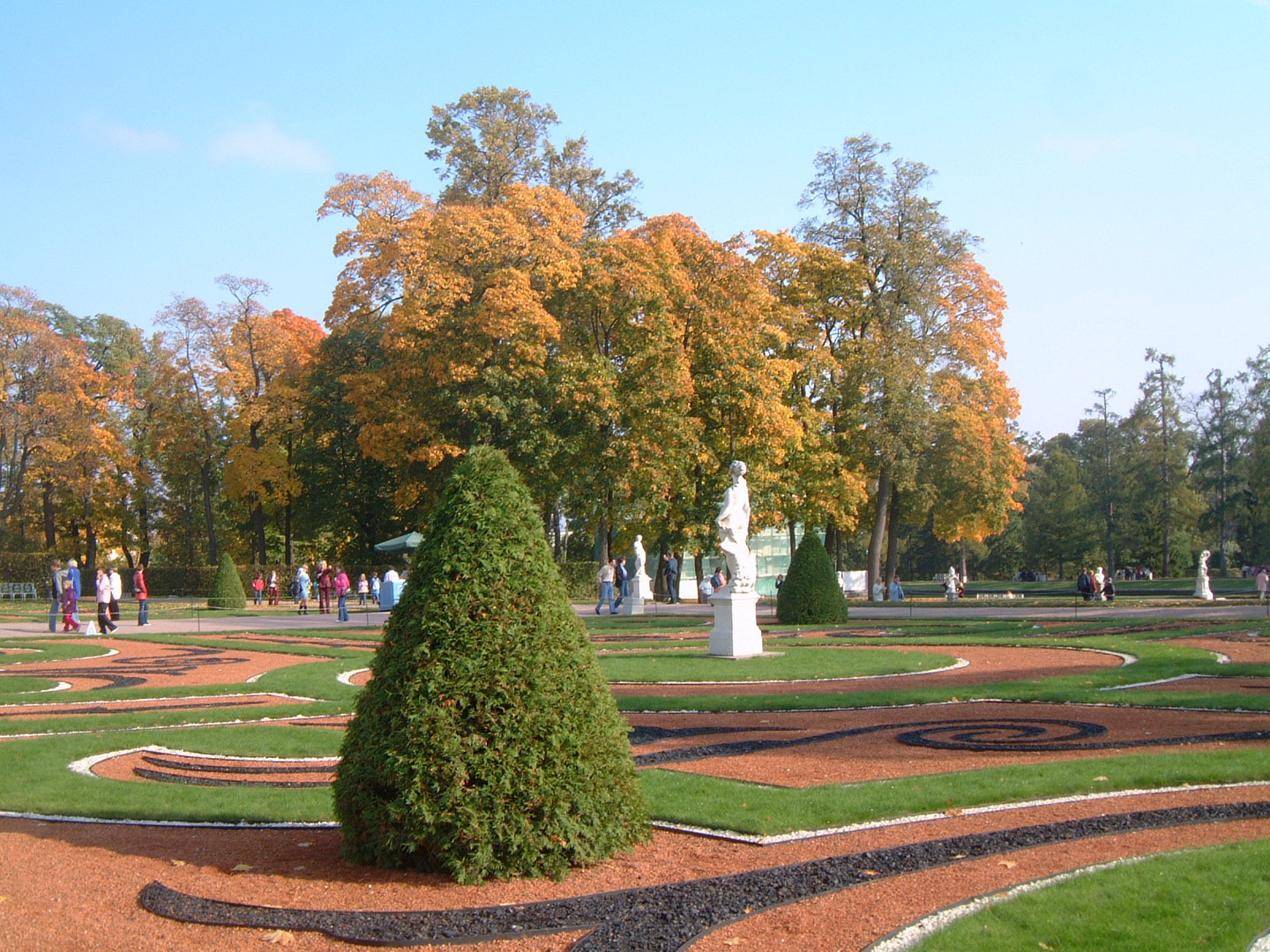 The Countryside Park of Catharine Palace, Zarskoje Zelo