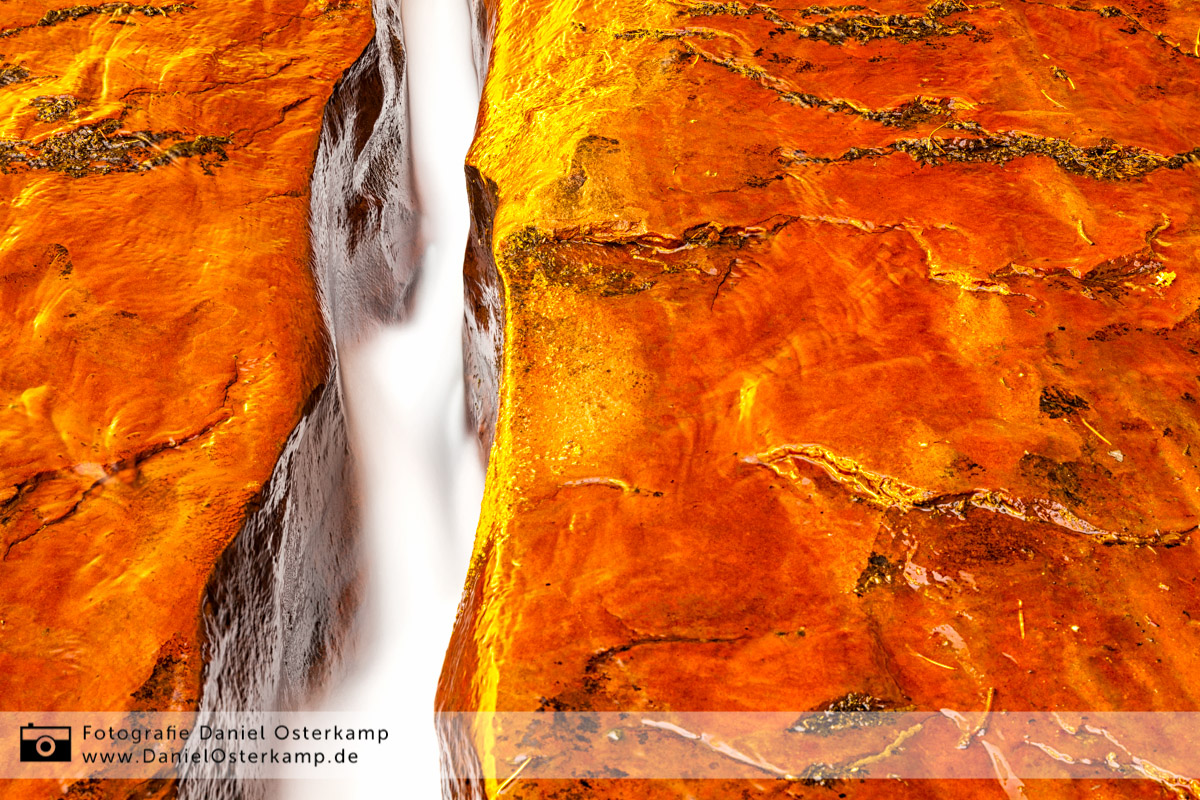 The Crack, Zion National Park, Utah, USA