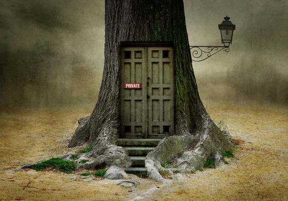 The door will open, if you are open for fantasy.