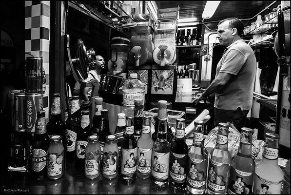 The drinks kiosk