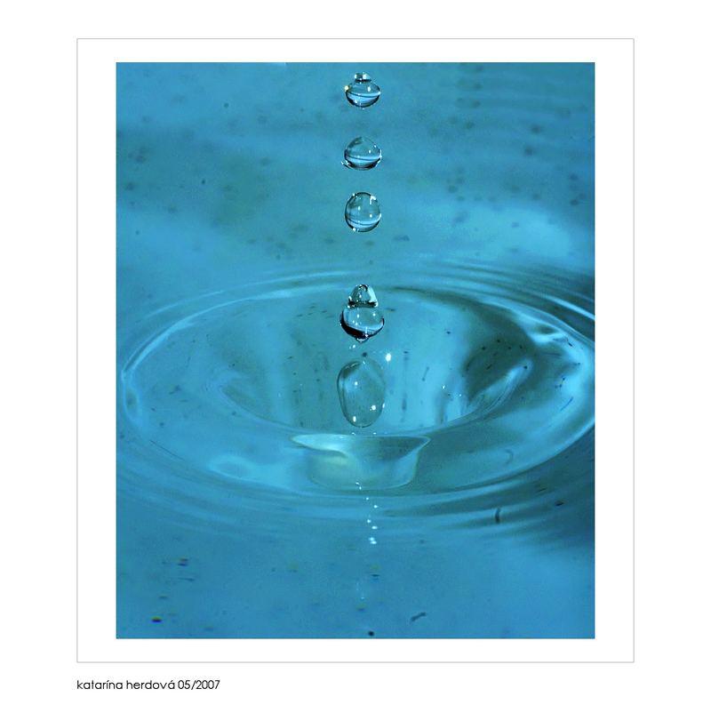 The drops...