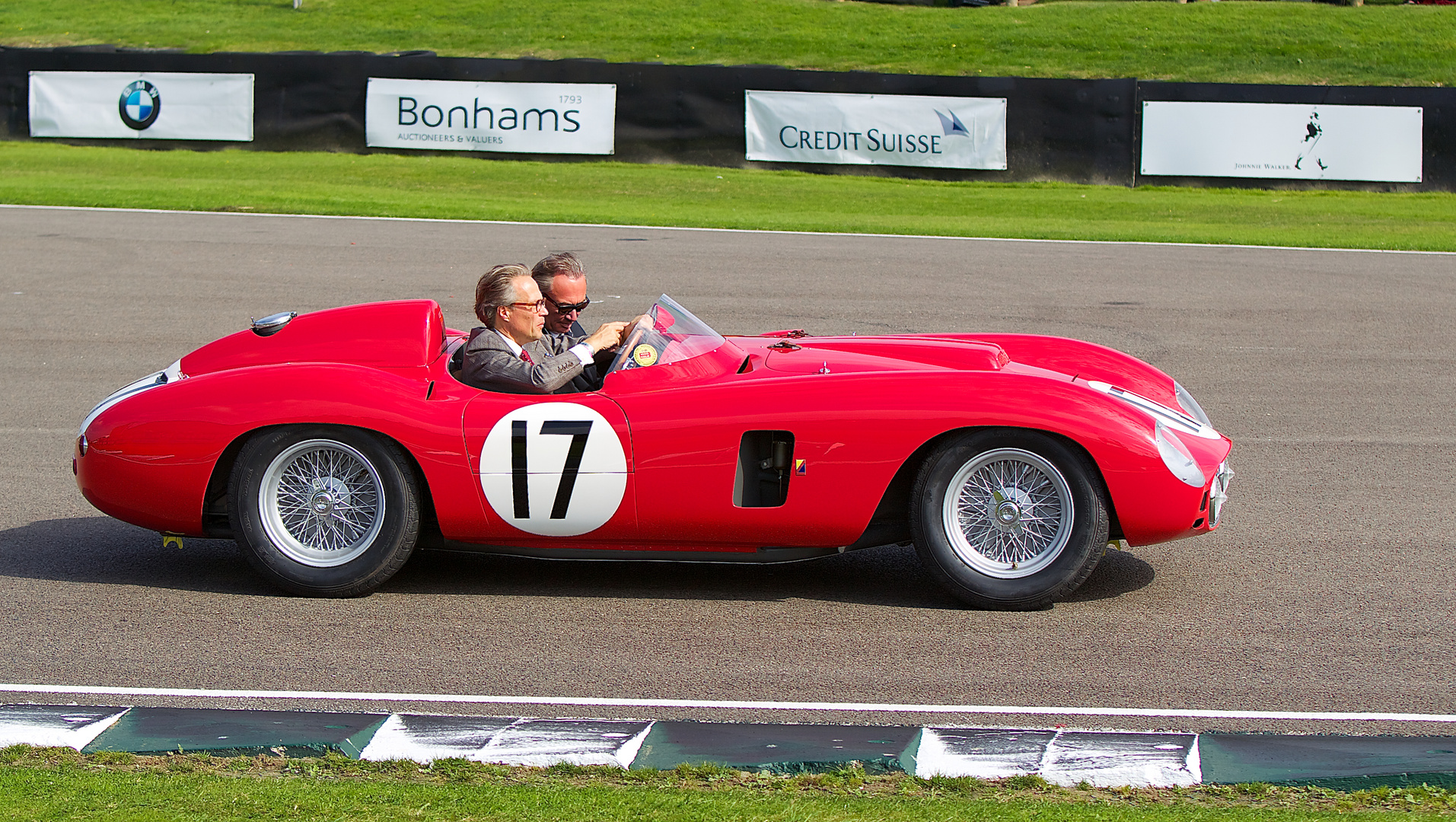 The Earl of March himself at Goodwood Revival