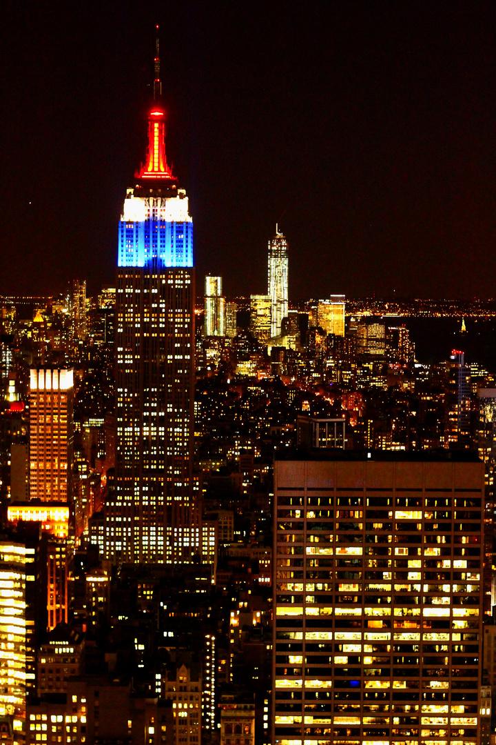 The Empire State Skyline