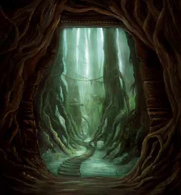 ~ The Entrance to a Hidden Place ~