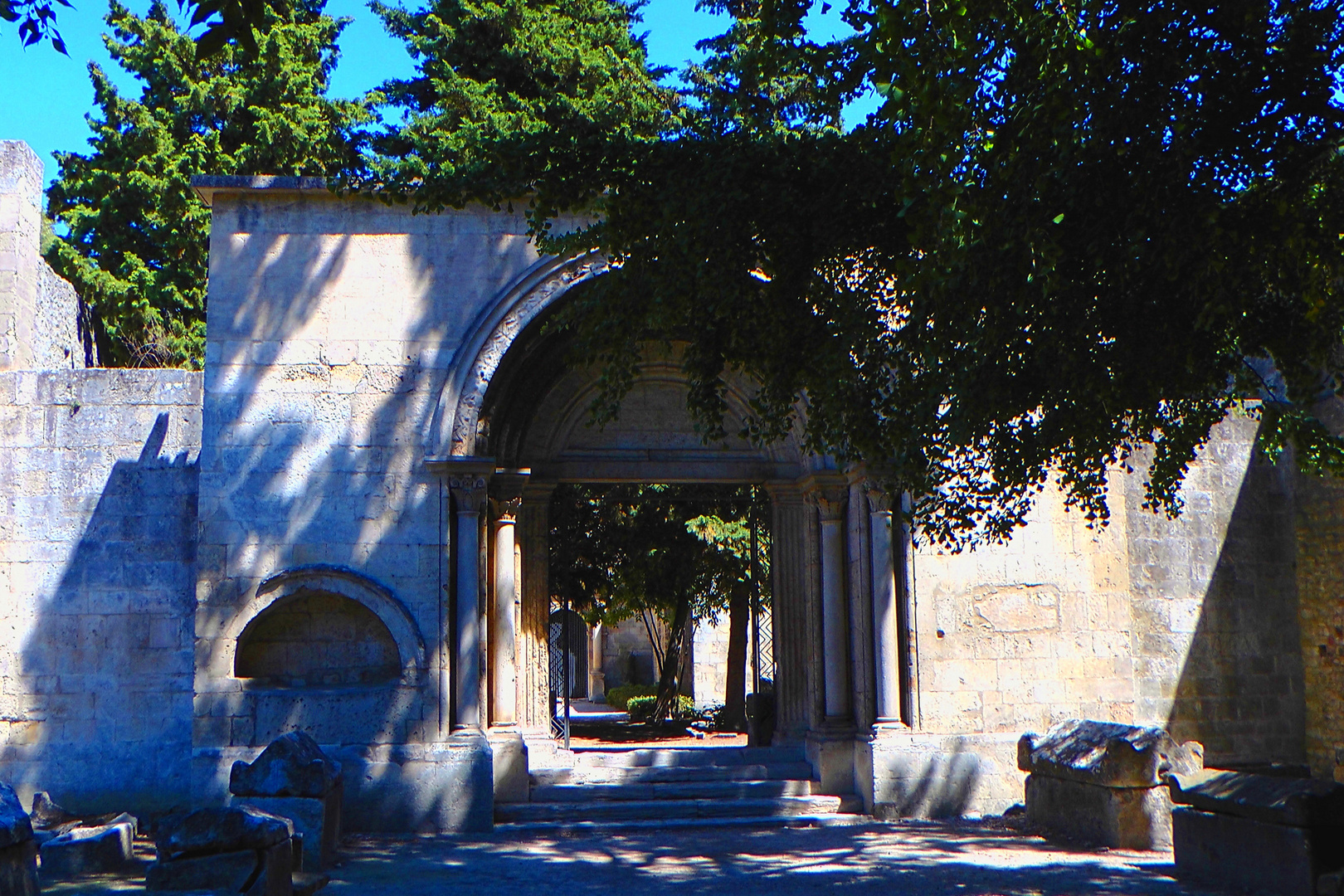 The Entrance to Les Alyscamps, Arles