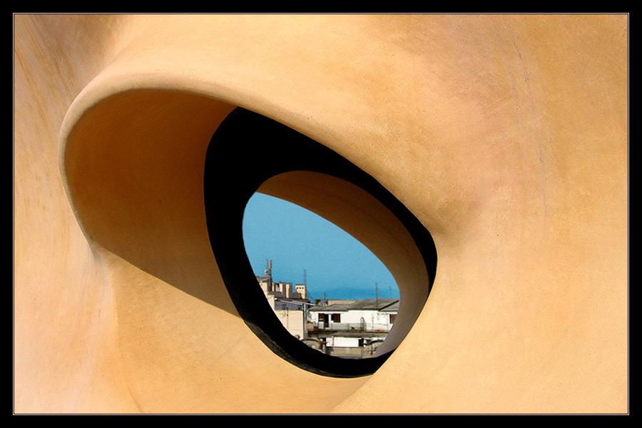 the eye of Barcelona
