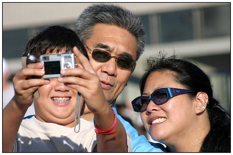 The family enjoys serious photography