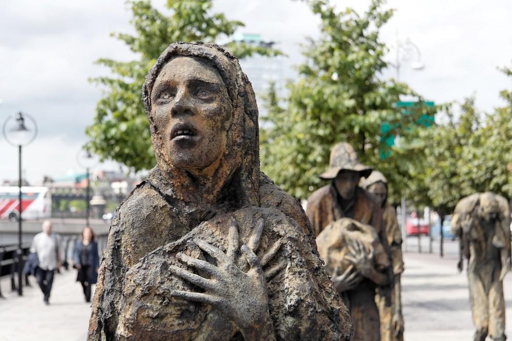 The Famine Sculpture, Dublin