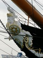 The Figurehead of the HMS Warrior 1860