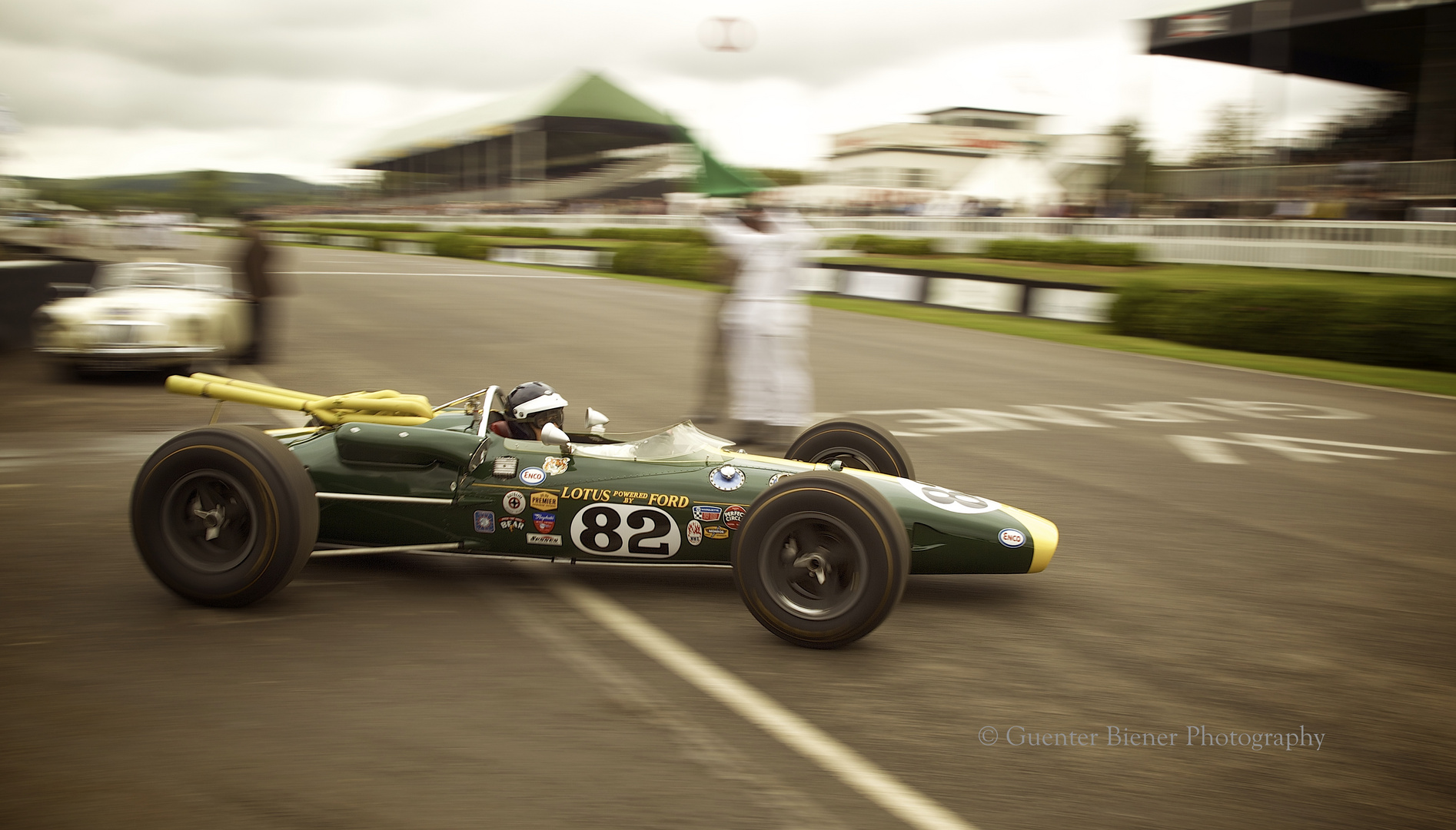 The first mid engined Indianapolis 500 winner.....