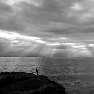 The fisherman of light