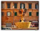 The Fleur-de-Lys Fountain made of Egyptian Granite