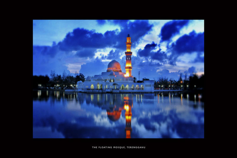 the floating mosque of terenggfanu