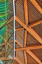 The Forum, Dachkonstruktion, Detail