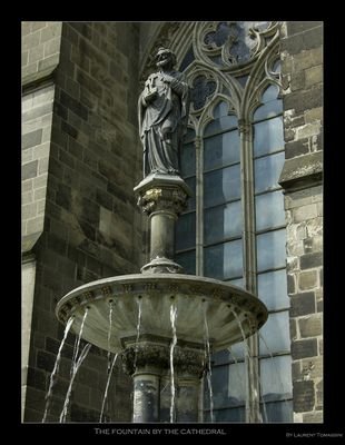 The fountain by the cathedral