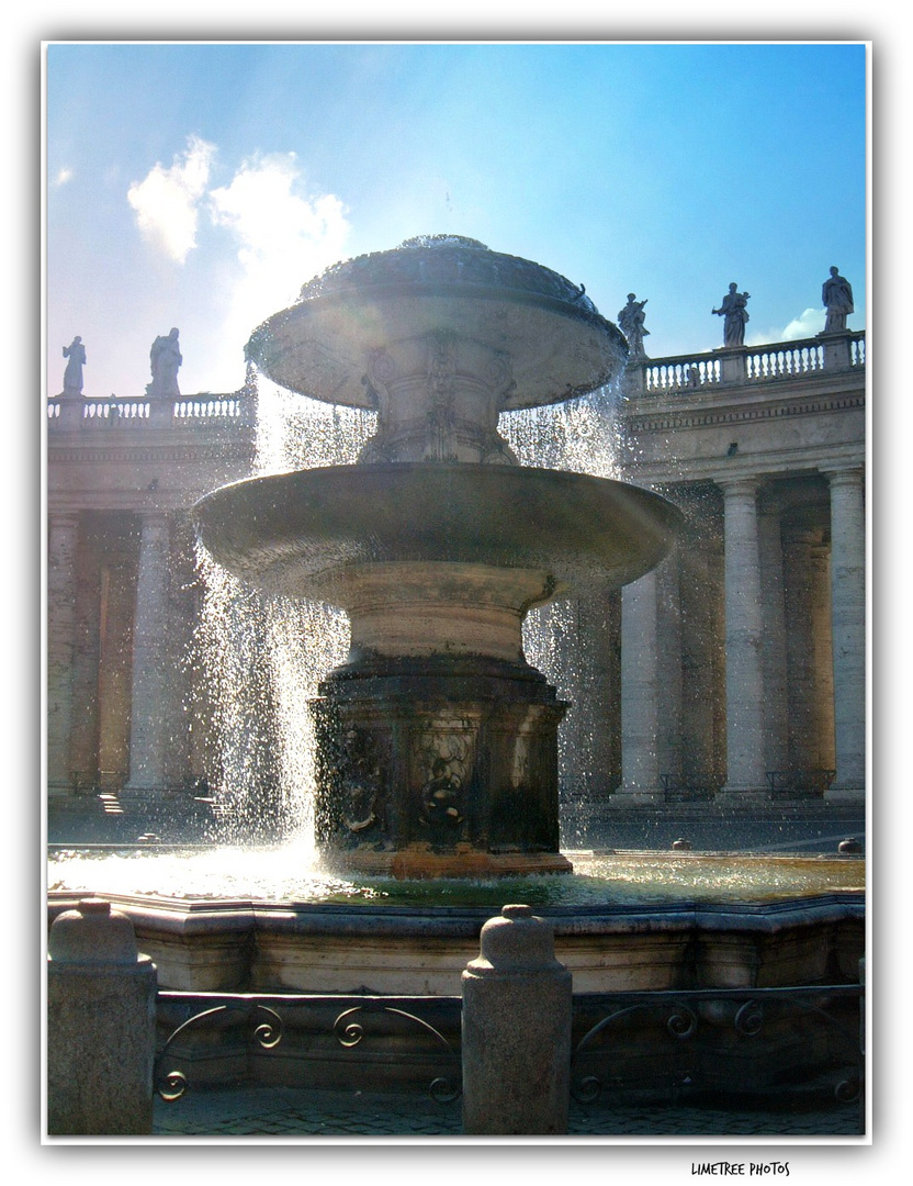 The Fountain of Carlo Maderno