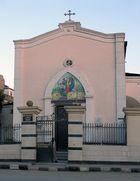 """The Francescan Catholic Church"" in Luxor"