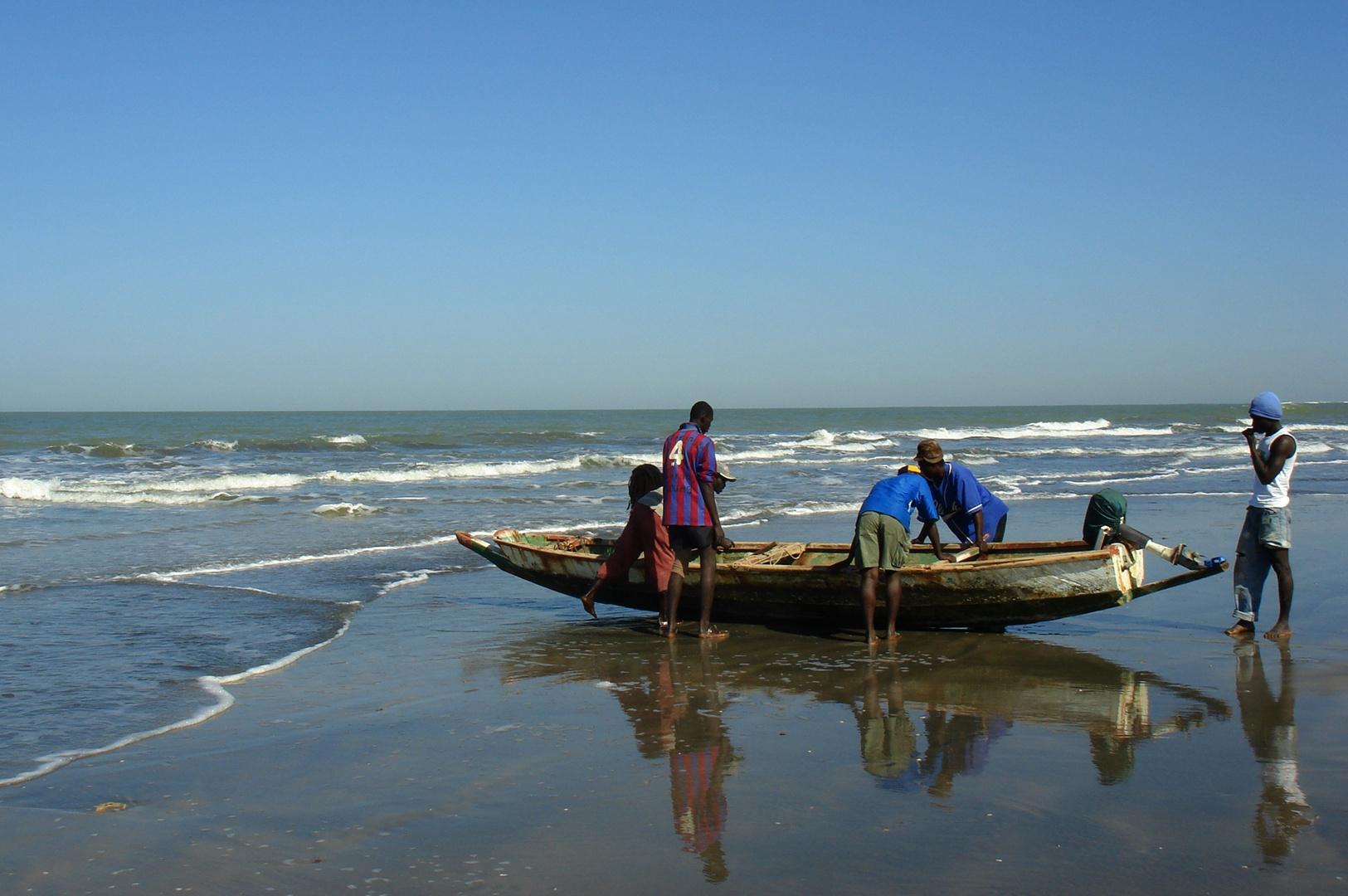 The Gambia: Atlantik