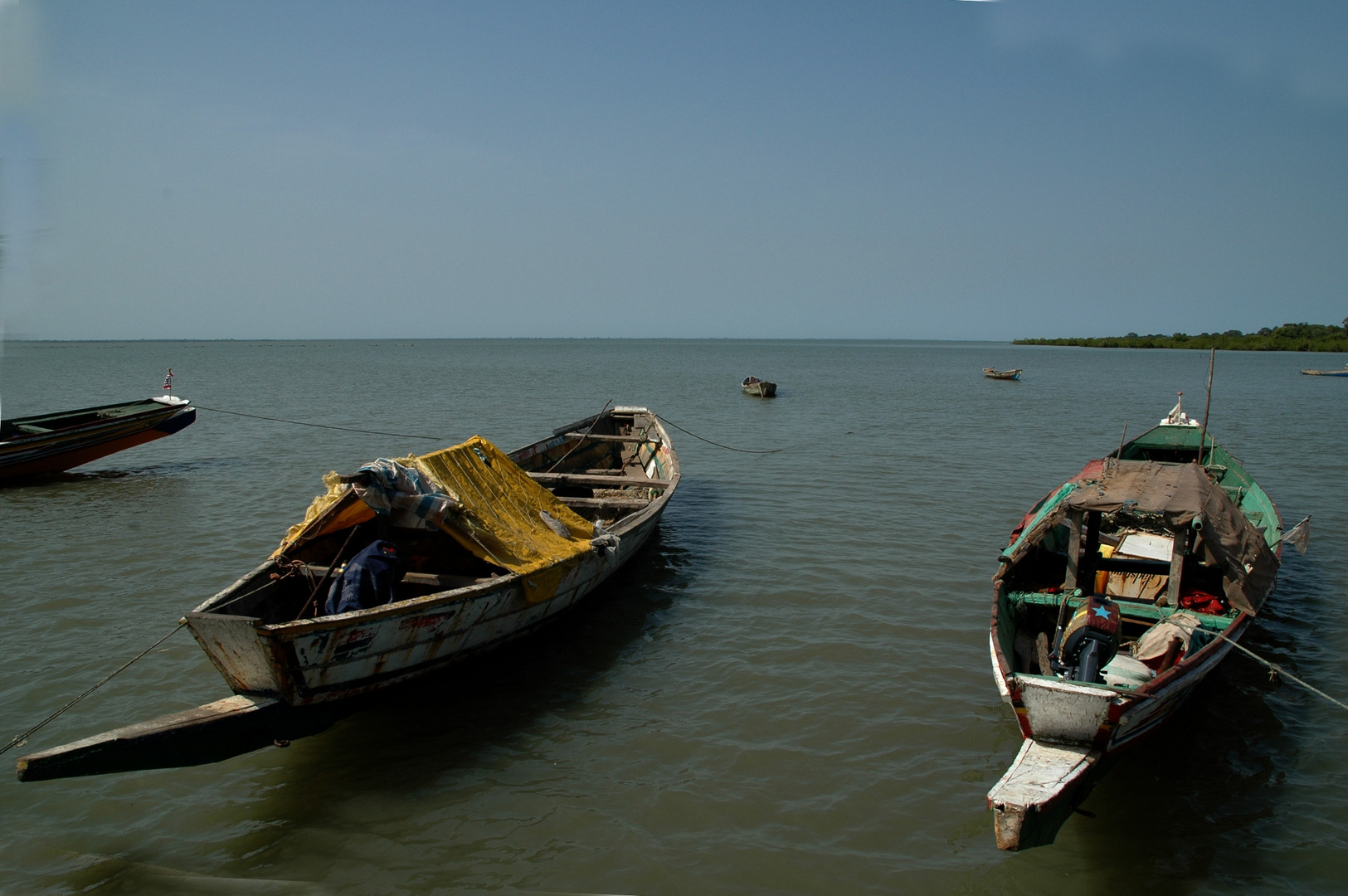 The Gambia: River