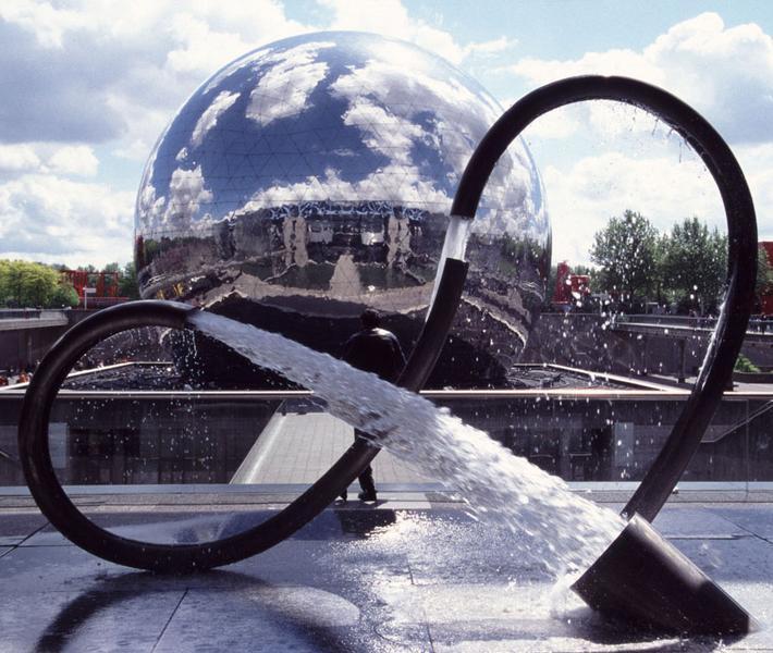 The Geode in Paris