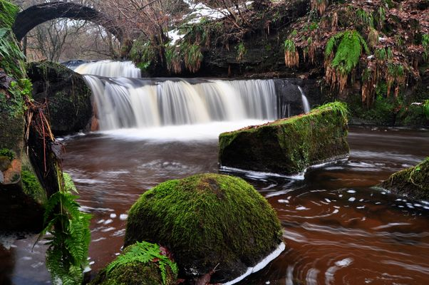 The Glen Waterfall,Kilsyth,Scotland