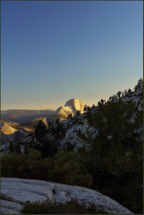 The Glowing Half Dome
