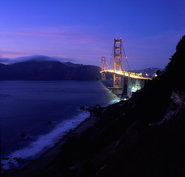 The Golden Gate Beach