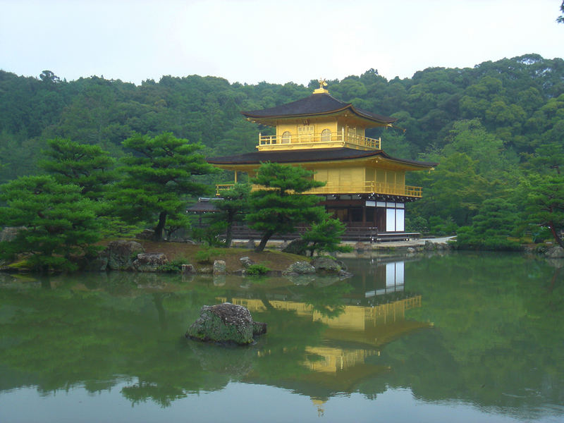 The Golden Pavilion.Rokokuon Temple