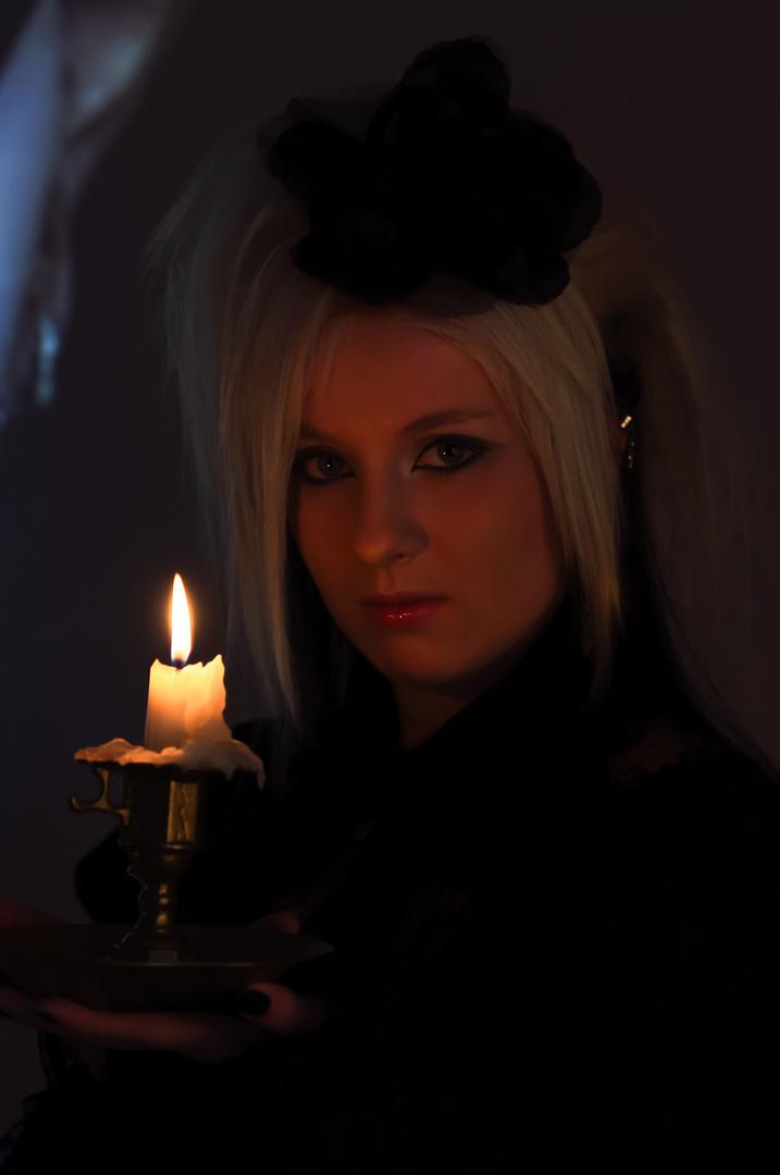 The Goth Girl (II)